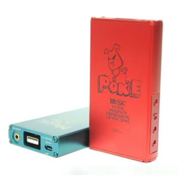 XDuoo 乂度 poke 便携解码耳放一体机 红色