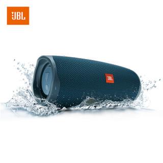 JBL Charge4 音乐冲击波4 蓝牙音箱 蓝色