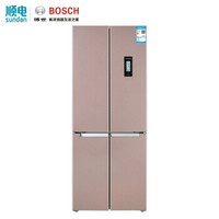 BOSCH 博世 KMF46A66TI 452升 十字对开门冰箱 玫瑰金