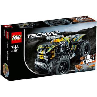 LEGO 乐高 Technic机械组系列  42034 四轮越野摩托车