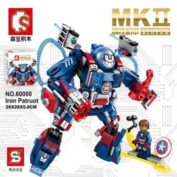 SEMBO BLOCK 森宝积木 MK-11钢铁侠机甲