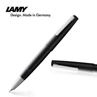 LAMY 凌美 2000系列 RAK44-002 钢笔 黑色 14K金笔尖 EF