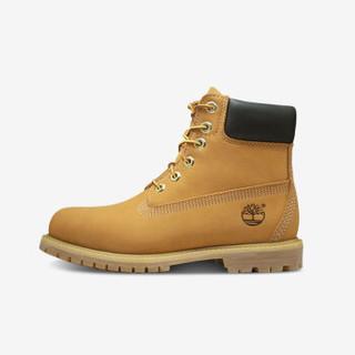 Timberland 添柏岚 10361 女士户外休闲中筒靴 (37、小麦色)