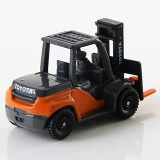 TOMY 多美 仿真 合金小汽车模型 111号丰田叉车