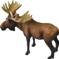 Schleich 思乐 仿真动物模型  公麋鹿