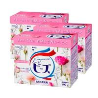 25日0点:kao 花王 含天然柔顺剂 洗衣粉 800g*3盒