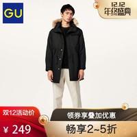 GU 极优 307719 男士休闲外套 (橄榄色、L)