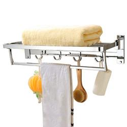 莱尔诗丹(Larsd) 1089B 浴巾架 折叠60cm 毛巾架 浴室挂件 卫浴挂件
