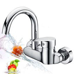 莱尔诗丹 Larsd LD75022 全铜主体入墙式厨房水龙头冷热单把菜盆水槽洗衣池混水阀