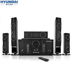 现代 HYUNDAI H3 家庭影院音响组合 KTV套装 5.1音响设备客厅电视家用壁挂落地音箱 有源家庭影院