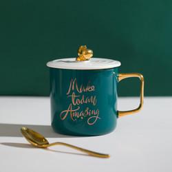 网易严选 圣诞节礼物 水杯  雨林物语 马克杯 河马杯生日礼物女生情侣送女友女生 河马杯