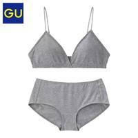 12日0点、双12预告:GU 极优 305671 女士文胸内裤套装