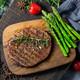 正是 原肉整切静腌牛排 黑椒牛扒 1500g *2件