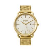 BREDA Linx系列男女璀璨轻奢日历石英手表