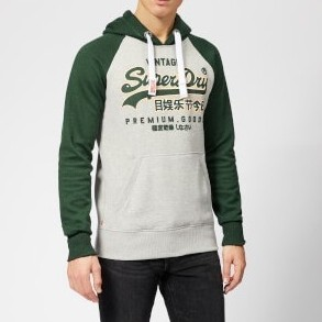 Superdry 极度干燥 Premium Goods Raglan 男士卫衣