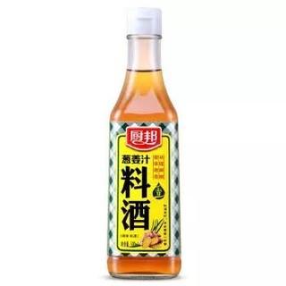 厨邦 葱姜料酒 瓶装 500ml *13件