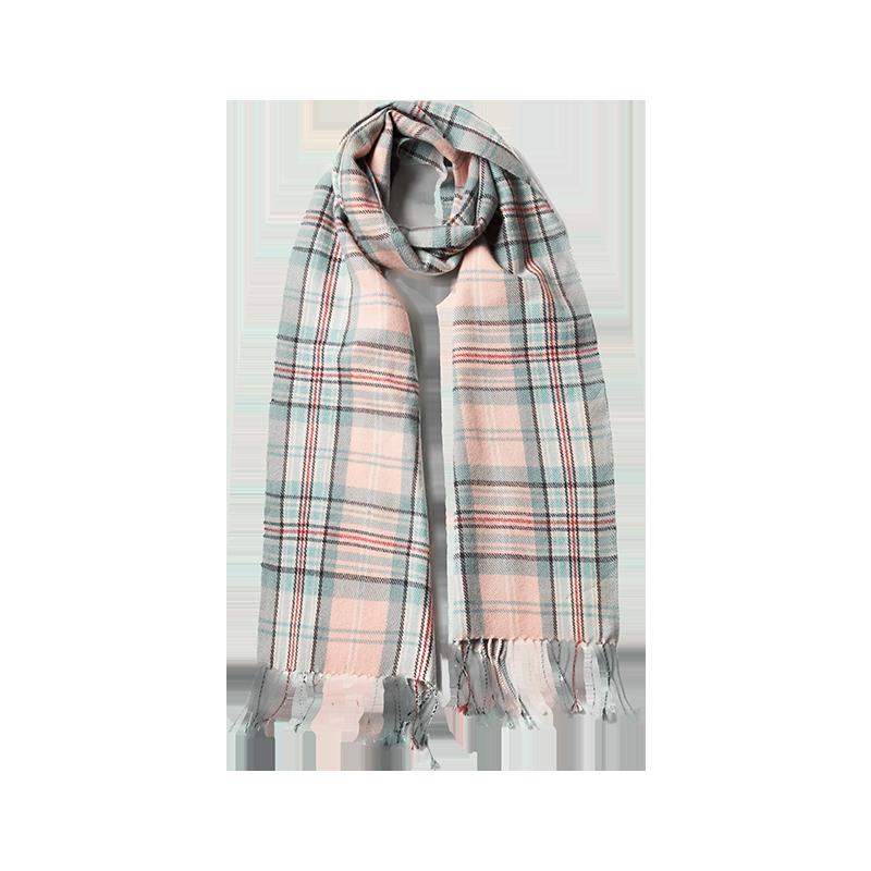 YANXUAN 网易严选 尼泊尔制造 经典王妃格纹围巾