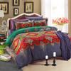 然牌 床上四件套韩版纯棉单双人床单被罩全棉床品套件 明媚夏日 1.5米床/1.8米床适用 149元