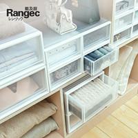 收纳箱抽屉式塑料家用内衣收纳盒宿舍衣柜收纳衣服整理箱储物箱子
