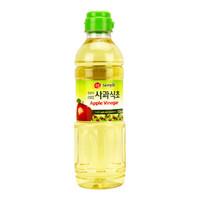 韩国进口 膳府 酿造苹果醋 凉拌泡香蕉水果醋 500ml