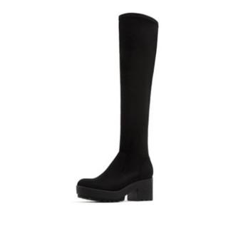 PULL&BEAR 15001311 女士瘦腿高跟长筒过膝靴