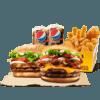 汉堡王 大胃王双人餐 单次电子兑换券 89元