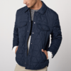 ANDREW MARC XFSM8AQ140MNY 男士绗缝棉服夹克 290元(可低至222元)