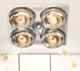 nvc-lighting 雷士照明 风暖集成吊顶浴室取暖三合一浴霸