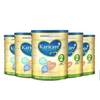 Karicare 可瑞康 婴儿牛奶粉 2段 900g *6件