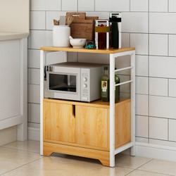时黛家居置物架 多功能收纳架层架储物架微波炉烤箱架