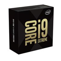 intel 英特尔 i9 9980XE CPU处理器 (三十六线程、十八核、LGA 2066、盒装)