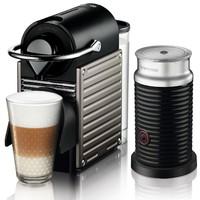 KRUPS  XN 301T Nespresso Pixie 胶囊咖啡机+奶泡机