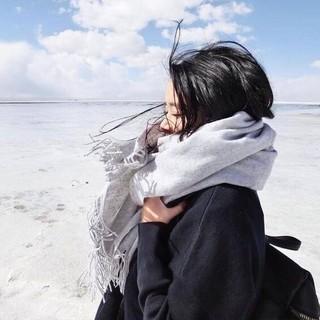Nan ji ren 南极人  女士仿羊绒围巾 70*200cm 多款可选