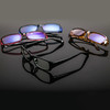 马克芬迪 防辐射眼镜女防蓝光电脑护目镜蓝膜平光镜女电脑潮学院复古风 5.1元(需用券)