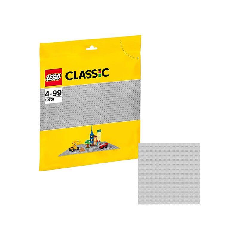LEGO 乐高 灰色底板 10701 + 我的世界 MINECRAFT STEVE M. ACC. 史蒂夫公仔