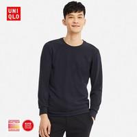 UNIQLO 优衣库 408120 男士HEATTECH圆领T恤