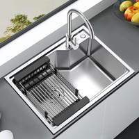 ARROW 箭牌卫浴 304不锈钢厨房水槽套装 先锋沥水盆款