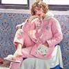 孕妇睡衣冬季加厚三层夹棉月子服棉袄秋冬天产后产妇哺乳衣喂奶衣 138元(需用券)