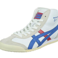 Onitsuka Tiger 鬼塚虎 MEXICO Mid Runner 1183A649-001 中性休闲跑步鞋
