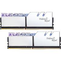 G.SKILL 芝奇 Trident Z Royal 皇家戟 DDR4 台式机内存 (8G*2、4266频率、铠甲银)