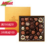 GODIVA歌帝梵 比利时原装版本巧克力礼盒装24粒 经典金装夹心混合巧克力礼盒装24粒/290g 248元