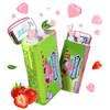 绿箭心形无糖薄荷糖草莓薄荷味约42粒28g铁盒装 9.9元