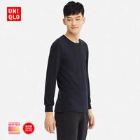 UNIQLO 优衣库  408120 男士 HEATTECH ULTRA WARM圆领T恤