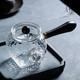 榜书城 玻璃茶壶锤纹侧把壶玻璃 140ml