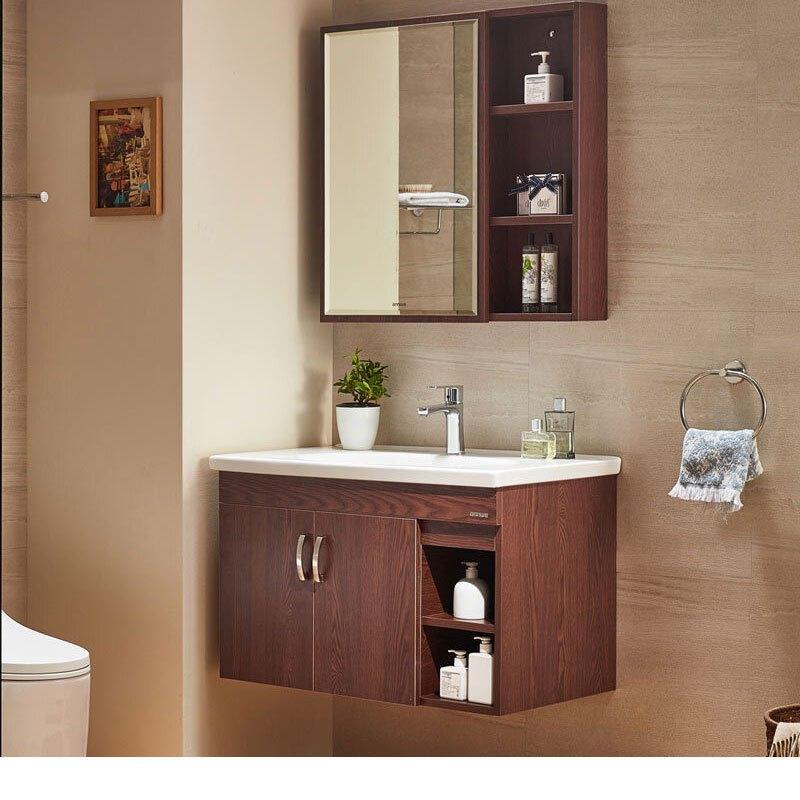 annwa安华卫浴欧式浴室柜实木洗脸洗手盆N3D65G15