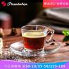 帕莎帕琦(Pasabahce)进口土耳其无铅玻璃杯*6只装 咖啡杯碟套装 水杯  茶杯 58元