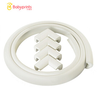 Babyprints 幼儿园专用防撞条2米 防撞角4个 赠送美国3M公司双面胶带 象牙白 *2件