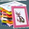 朗格 木质挂墙相框 5寸 多色可选 1.1元包邮(需用券)