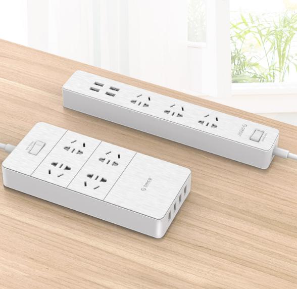 ORICO 奥睿科 GPC-3A4U 智能USB接线板 (1.8m)