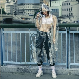 Original X Youth R18系列 长款PVC质感风衣